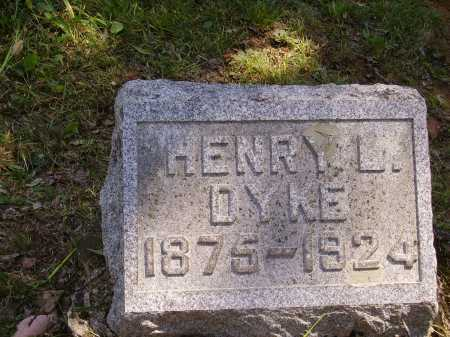DYKE, HENRY L. - Meigs County, Ohio | HENRY L. DYKE - Ohio Gravestone Photos