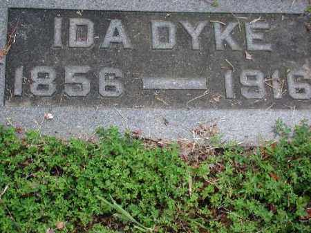 DYKE, IDA - Meigs County, Ohio | IDA DYKE - Ohio Gravestone Photos