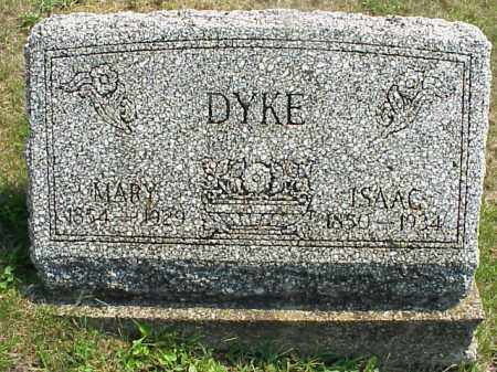 DYKE, MARY - Meigs County, Ohio | MARY DYKE - Ohio Gravestone Photos
