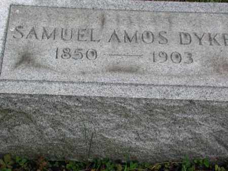 DYKE, SAMUEL AMOS - Meigs County, Ohio | SAMUEL AMOS DYKE - Ohio Gravestone Photos