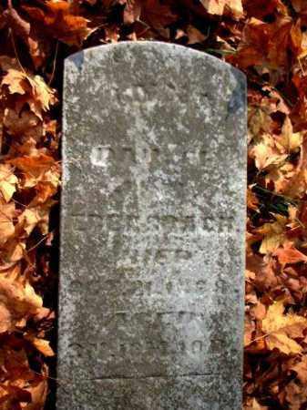 EBERSBACH, ANNA - Meigs County, Ohio | ANNA EBERSBACH - Ohio Gravestone Photos