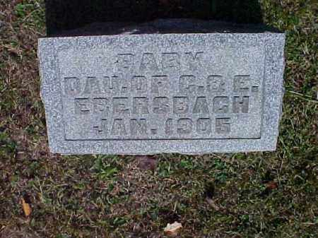 EBERSBACH, BABY - Meigs County, Ohio | BABY EBERSBACH - Ohio Gravestone Photos