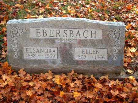 EBERSBACH, ELSANORA - Meigs County, Ohio | ELSANORA EBERSBACH - Ohio Gravestone Photos