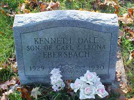 EBERSBACH, KENNETH DALE - Meigs County, Ohio   KENNETH DALE EBERSBACH - Ohio Gravestone Photos