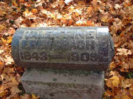 EBERSBACH, VALENTINE - Meigs County, Ohio | VALENTINE EBERSBACH - Ohio Gravestone Photos