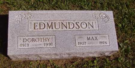 EDMUNDSON, DOROTHY - Meigs County, Ohio | DOROTHY EDMUNDSON - Ohio Gravestone Photos