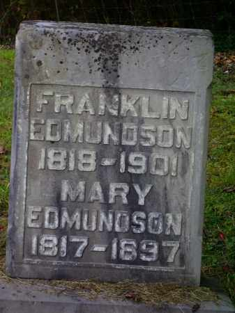 EDMUNDSON, MARY - Meigs County, Ohio | MARY EDMUNDSON - Ohio Gravestone Photos