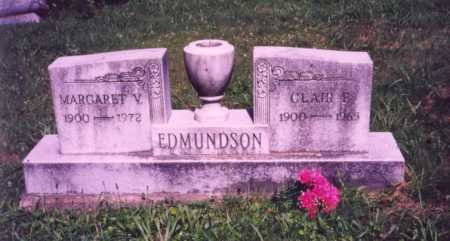 EDMUNDSON, MARGARET V. - Meigs County, Ohio | MARGARET V. EDMUNDSON - Ohio Gravestone Photos