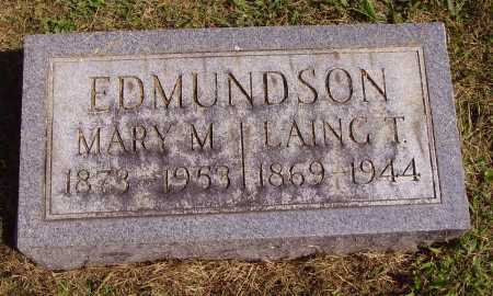 EDMUNDSON, LAING T. - Meigs County, Ohio | LAING T. EDMUNDSON - Ohio Gravestone Photos