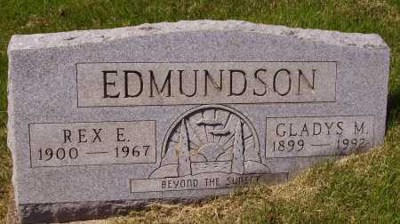 EDMUNDSON, REX E. - Meigs County, Ohio | REX E. EDMUNDSON - Ohio Gravestone Photos