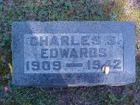 EDWARDS, CHARLES S. - Meigs County, Ohio | CHARLES S. EDWARDS - Ohio Gravestone Photos
