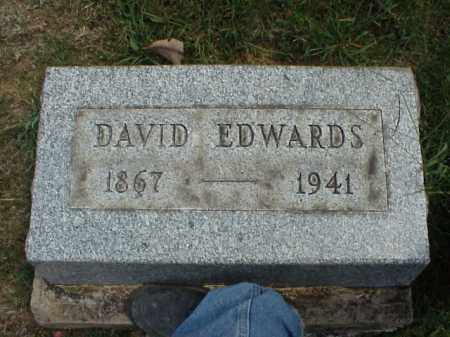EDWARDS, DAVID - Meigs County, Ohio | DAVID EDWARDS - Ohio Gravestone Photos