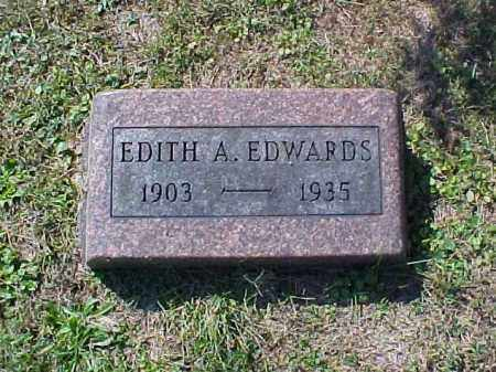EDWARDS, EDITH A. - Meigs County, Ohio | EDITH A. EDWARDS - Ohio Gravestone Photos