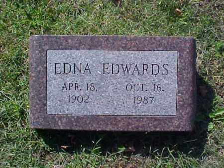 EDWARDS, EDNA - Meigs County, Ohio | EDNA EDWARDS - Ohio Gravestone Photos