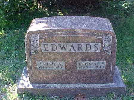EDWARDS, THOMAS E. - Meigs County, Ohio | THOMAS E. EDWARDS - Ohio Gravestone Photos