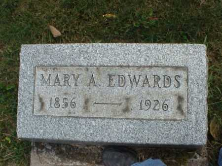 EDWARDS, MARY A. - Meigs County, Ohio | MARY A. EDWARDS - Ohio Gravestone Photos