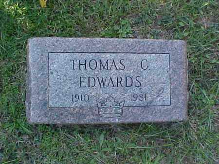 EDWARDS, THOMAS C. - Meigs County, Ohio | THOMAS C. EDWARDS - Ohio Gravestone Photos
