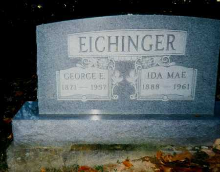 WILLARD EICHINGER, IDA MAE - Meigs County, Ohio | IDA MAE WILLARD EICHINGER - Ohio Gravestone Photos