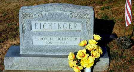 EICHINGER, LEROY N. - Meigs County, Ohio | LEROY N. EICHINGER - Ohio Gravestone Photos