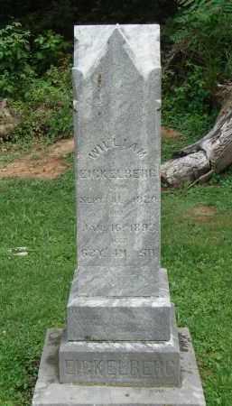 EICKELBERG, WILLIAM - Meigs County, Ohio | WILLIAM EICKELBERG - Ohio Gravestone Photos