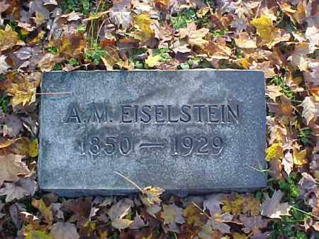 EISELSTEIN, A. M. - Meigs County, Ohio | A. M. EISELSTEIN - Ohio Gravestone Photos