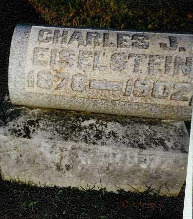 EISELSTEIN, CHARLES J. - Meigs County, Ohio | CHARLES J. EISELSTEIN - Ohio Gravestone Photos