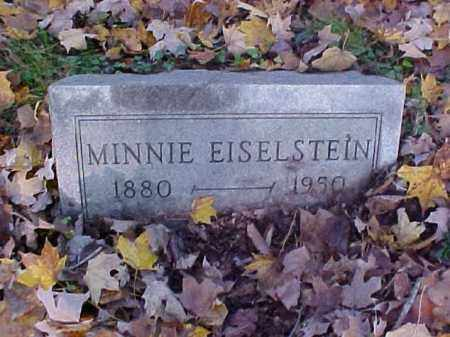 EISELSTEIN, MINNIE - Meigs County, Ohio | MINNIE EISELSTEIN - Ohio Gravestone Photos