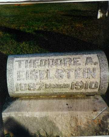 EISELSTEIN, THEODORE A. - Meigs County, Ohio | THEODORE A. EISELSTEIN - Ohio Gravestone Photos
