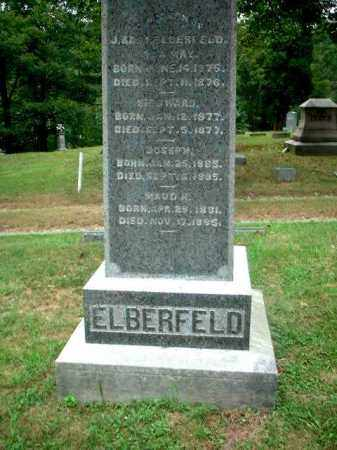 ELBERFELD, SIEGWARD - Meigs County, Ohio | SIEGWARD ELBERFELD - Ohio Gravestone Photos