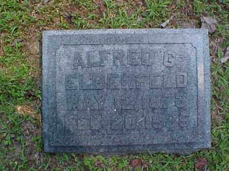 ELBERFELD, ALFRED G. - Meigs County, Ohio | ALFRED G. ELBERFELD - Ohio Gravestone Photos