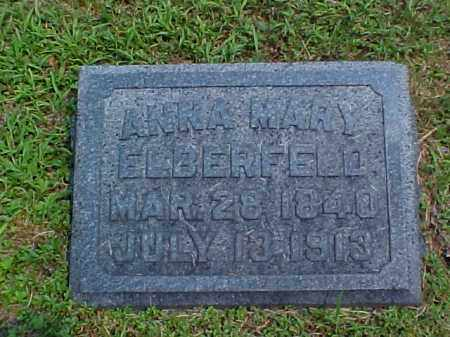 ELBERFELD, ANNA MARY - Meigs County, Ohio | ANNA MARY ELBERFELD - Ohio Gravestone Photos