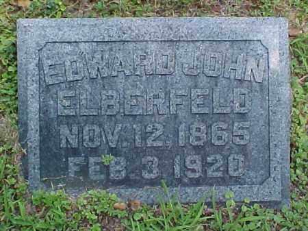 ELBERFELD, EDWARD JOHN - Meigs County, Ohio | EDWARD JOHN ELBERFELD - Ohio Gravestone Photos