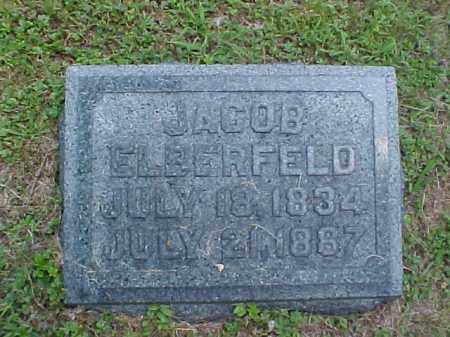 ELBERFELD, JACOB - Meigs County, Ohio | JACOB ELBERFELD - Ohio Gravestone Photos