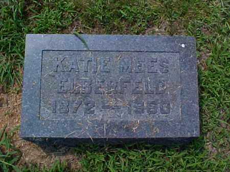 MEES ELBERFELD, KATIE - Meigs County, Ohio | KATIE MEES ELBERFELD - Ohio Gravestone Photos