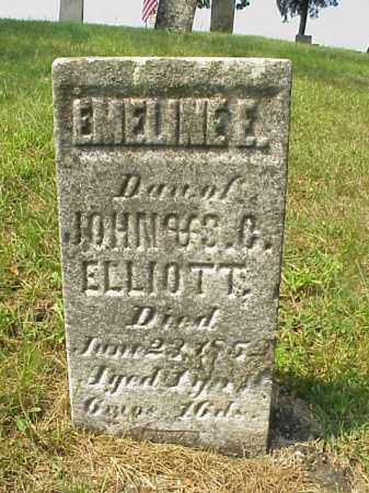 ELLIOTT, EMELINE E. - Meigs County, Ohio | EMELINE E. ELLIOTT - Ohio Gravestone Photos