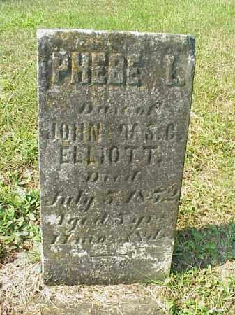 ELLIOTT, PHEBE L. - Meigs County, Ohio   PHEBE L. ELLIOTT - Ohio Gravestone Photos
