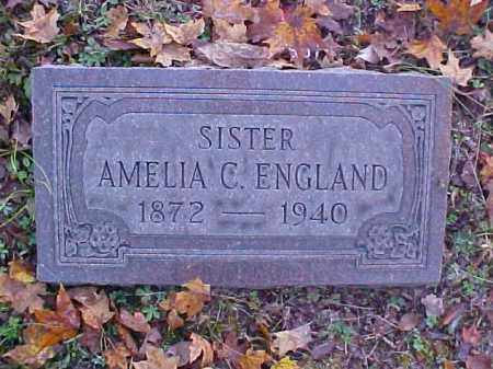 ENGLAND, AMELIA  C. - Meigs County, Ohio | AMELIA  C. ENGLAND - Ohio Gravestone Photos