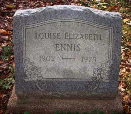 ENNIS, LOUISE ELIZABETH - Meigs County, Ohio | LOUISE ELIZABETH ENNIS - Ohio Gravestone Photos