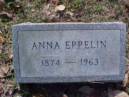 EPPELIN, ANNA - Meigs County, Ohio | ANNA EPPELIN - Ohio Gravestone Photos