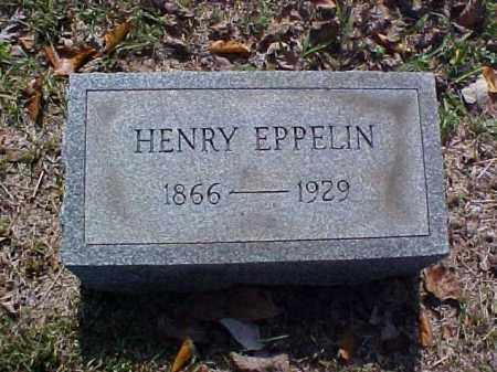 EPPELIN, HENRY - Meigs County, Ohio | HENRY EPPELIN - Ohio Gravestone Photos