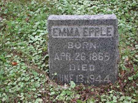 EPPLE, EMMA - Meigs County, Ohio | EMMA EPPLE - Ohio Gravestone Photos