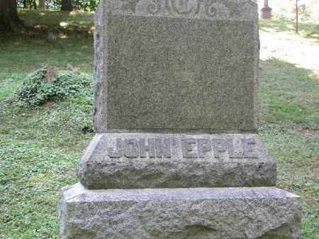 EPPLE, JOHN - Meigs County, Ohio | JOHN EPPLE - Ohio Gravestone Photos