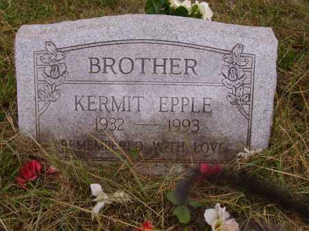 EPPLE, KERMIT - Meigs County, Ohio | KERMIT EPPLE - Ohio Gravestone Photos