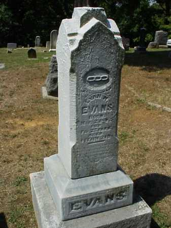 EVANS, EVAN M. - Meigs County, Ohio | EVAN M. EVANS - Ohio Gravestone Photos