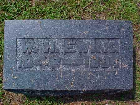 EWING, W. H. - Meigs County, Ohio | W. H. EWING - Ohio Gravestone Photos