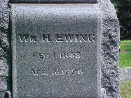 EWING, WM. H. - Meigs County, Ohio | WM. H. EWING - Ohio Gravestone Photos