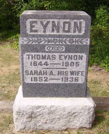 VAUGHAN EYNON, SARAH ANN - Meigs County, Ohio | SARAH ANN VAUGHAN EYNON - Ohio Gravestone Photos