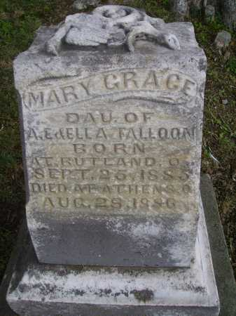 FALLOON, MARY GRACE - Meigs County, Ohio | MARY GRACE FALLOON - Ohio Gravestone Photos