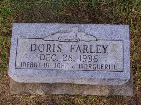 FARLEY, DORIS - Meigs County, Ohio | DORIS FARLEY - Ohio Gravestone Photos