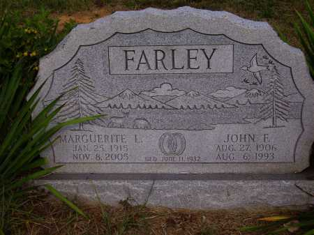 VAUGHN FARLEY, MARGUERITE L. - Meigs County, Ohio | MARGUERITE L. VAUGHN FARLEY - Ohio Gravestone Photos